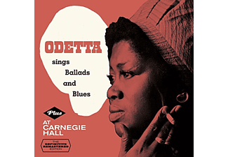 Odetta - Sings Ballads and Blues/At Carnegie Hall (CD)
