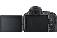 NIKON D5600 Kit Spiegelreflexkamera, 24.2 Megapixel, Full HD, 18-105 mm Objektiv (VR, AF-S, DX), Touchscreen Display, Schwarz