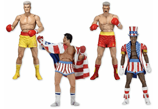 Rocky 40Th Anni.Serie 2 Assortment Rocky IV