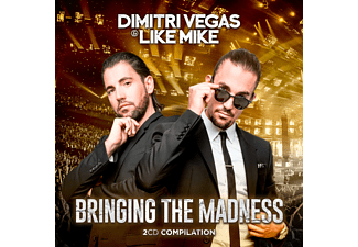 Dimitri Vegas & Like Mike - Bringing The Madness CD