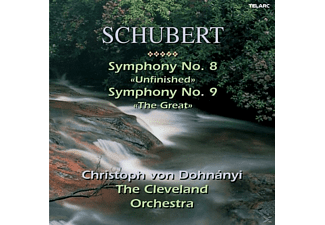"The Cleveland Orchestra - Schubert: Simphony No. 8 ""Unfinished"" & Symphony No. 9 ""The - (CD)"