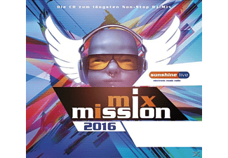 VARIOUS - Sunshine Live-Mix Mission 2016 - (CD)