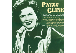 Patsy Cline - WALKIN  AFTER MIDNIGHT - (CD)