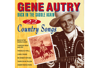 Gene Autry - BACK IN THE SADDLE AGAIN-22 - (CD)