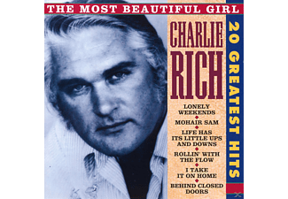 Charlie Rich - The Most Beautiful Girl - 20 Greatest Hits - (CD)
