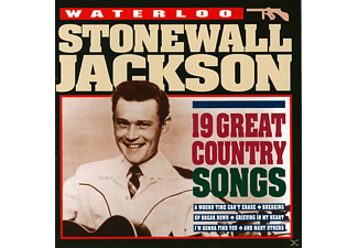Stonewall Jackson - Waterloo - 19 Great Country So - (CD)