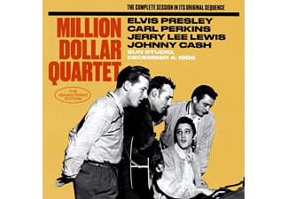 Elvis Presley, Million Dollar Quartet - The Complete Session in Its Original Sequence (CD)