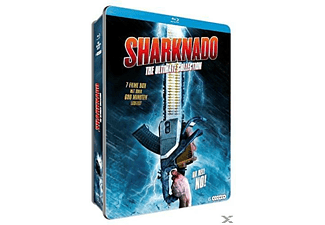 Sharknado (Ultimate Collection Metallbox) - (Blu-ray + DVD)