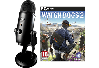 BLUE Yeti USB + Watch Dogs 2 PC - Svart