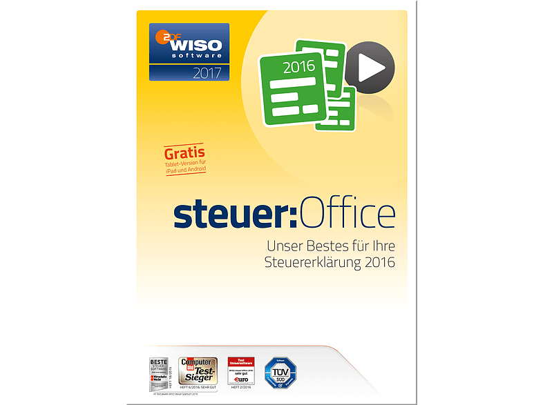 WISO steuer:Office 2017