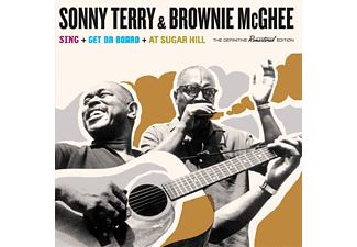 Sonny Terry & Brownie Mcghee - Sing/Get On Board/At Sugar Hill (CD)