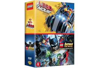 LEGO The Movie + LEGO Batman: DC Super Heroes Unite DVD