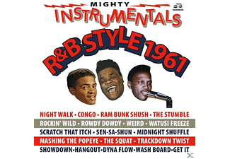 VARIOUS - Mighty Instrumentals R&B-Style 1961 - (CD)