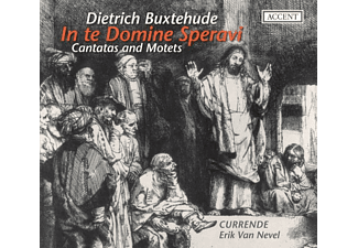 ENS. CURRENDE, Van Nevel/Currende - In Te Domine Speravi-Kantaten Und Mote - (CD)