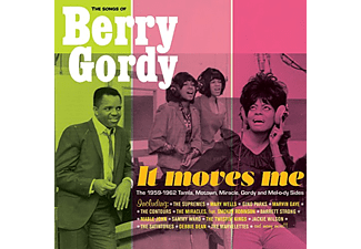 Különböző előadók - It Moves Me: The Songs of Berry Gordy (CD)