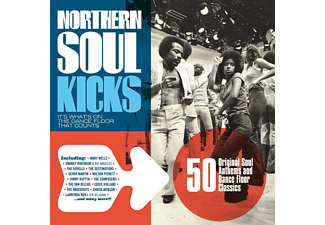 Különböző előadók - Northern Soul Kicks - It's What's on the Dance Floor that Counts (CD)