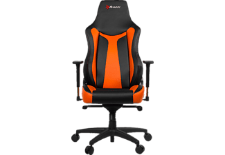 AROZZI Vernazza, Gamingstuhl, Schwarz/Orange