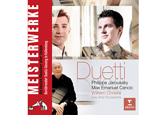 William Christie, Cencic Max Emanuel, Philippe Jaroussky - Duetti - (CD)