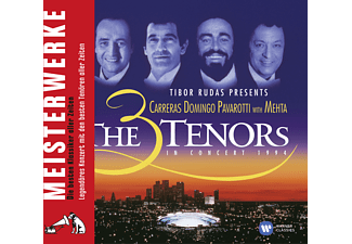 Plácido Domingo - 3 Tenors With Mehta In Concert 1994 - (CD)