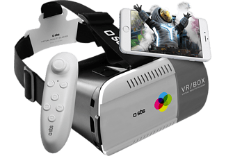 SBS MOBILE Virtual Reality Viewer + Joystick - Grå