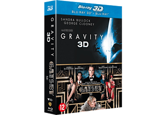 Gravity + The Great Gatsby Blu-ray 3D