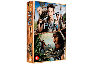 Pan + Jack The Giant Slayer DVD