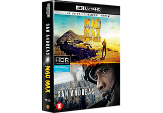 Mad Max Fury Road + San Andreas Blu-ray 4K