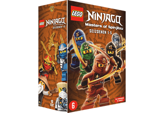 LEGO Ninjago: Masters of Spinjitzu Season 1-5