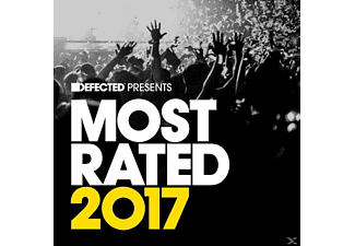 VARIOUS - Defected Pres. Most Rated 2017 - (CD)