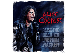 Alice Cooper - Raise The Dead (Live From Wacken) - (LP + DVD Video)