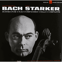 Janos Starker - 6 Solo Cello Suites [Vinyl]