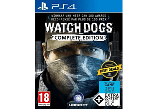 Watch_Dogs Complete Edition NL/FR PS4