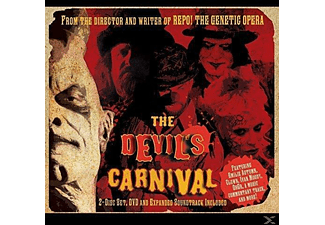 VARIOUS - The Devil's Carnival - (CD + Buch)