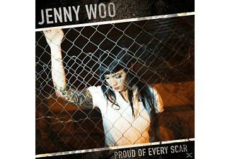 Jenny Woo - Proud of Every Scar - (CD)