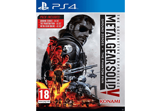 Metal Gear Solid V: The Definitive Experience UK PS4