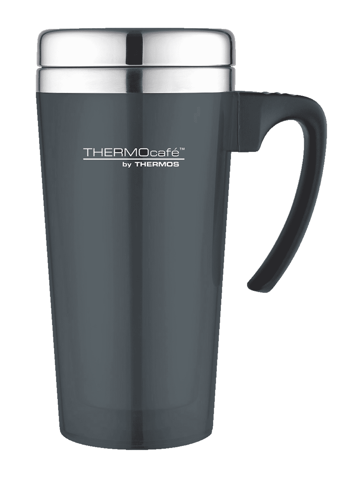 THERMOS  4061.235.040 Color Thermobecher in Schwarz/Silber | 05010576901842