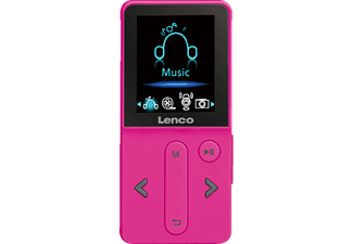 LENCO Lecteur MP3 4 GB Rose (XEMIO-240PK)