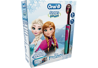 Pack dental - Cepillo Eléctrico Oral B D12 Vitality Stage Frozen Oscilante