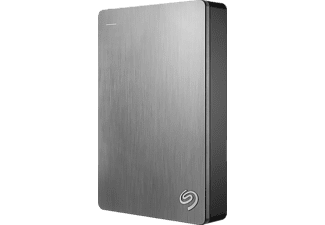 SEAGATE SILBER BACKUP PLUS PORTABLE, 5 TB HDD, 2.5 Zoll, extern