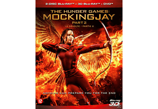 Hunger Games - Mockingjay Part 2 3D - Blu-ray