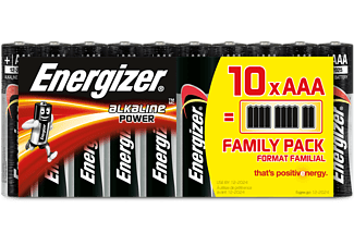 ENERGIZER Battery Power AAA Alkaline 10τμχ