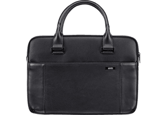 ARTWIZZ Leather Bag Notebookhülle, Aktentasche, 13 Zoll, Schwarz