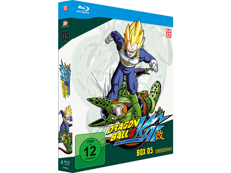 Dragonball Z Kai Box - Vol. 5 [Blu-ray]