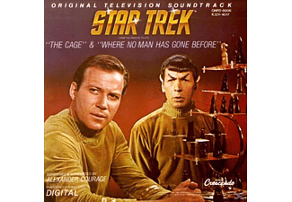 Alexander Courage - Star Trek: Original Television Soundtrack - The Cage & Where No Man Has Gone Before - (CD)