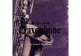 VARIOUS - Relax With Saxophon - (CD)