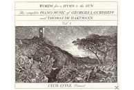 Lytle Cecil - Words For A Hymn To The Sun [CD]