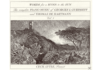 Lytle Cecil - Words For A Hymn To The Sun - (CD)