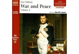 Leo Tolstoy - War & Peace Vol.2 - (CD)