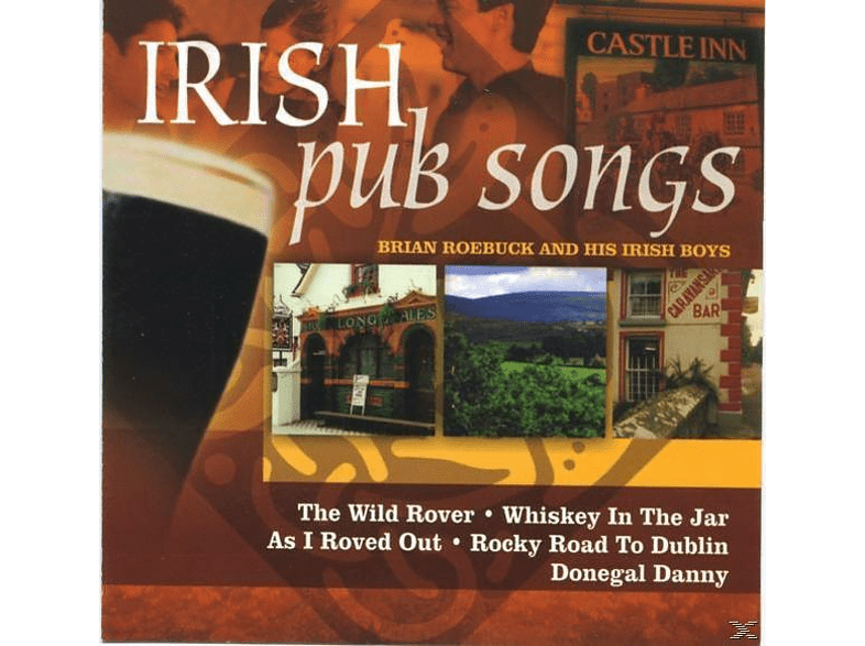 Brian And His Irish Boys Roebuck - Irish Pub Songs [CD]