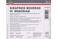 Siegfried Behrend - Siegfried Behrend In Memoriam [CD]
